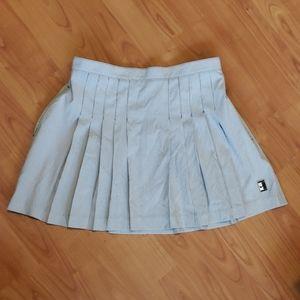 Nike tennis skirt pinstripe